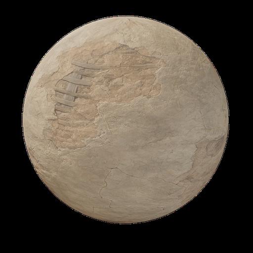Thumbnail: Old medieval plaster