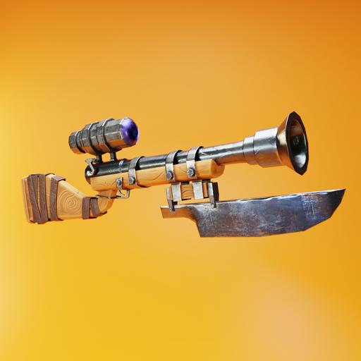 Thumbnail: Stylized pump shotgun