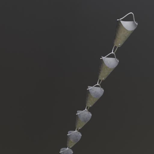 Thumbnail: Gutter downspout chain 4