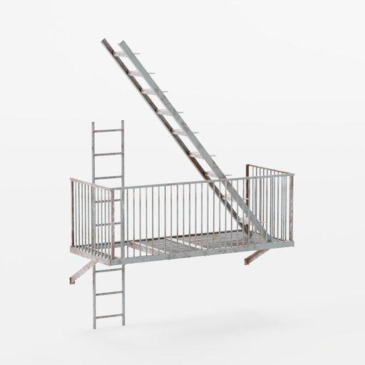 Thumbnail: Stairs 2 BottomEnd 3x3x0.5