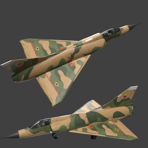 Mirage fighter jet