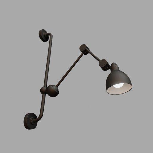 Thumbnail: Wall lamp