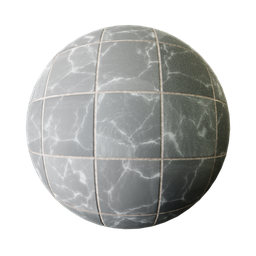Thumbnail: Black marble tiles