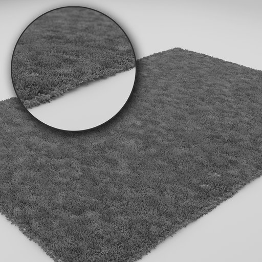 Thumbnail: Modern grey carpet