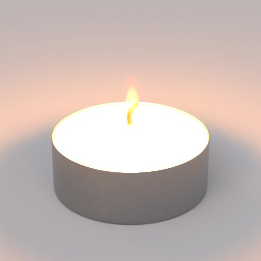 Thumbnail: burning candle