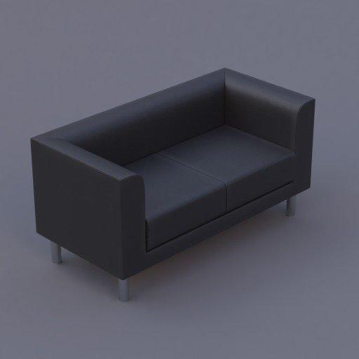 Thumbnail: favara II sofa black