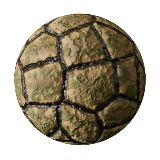 Thumbnail: Dry soil cracked - procedural