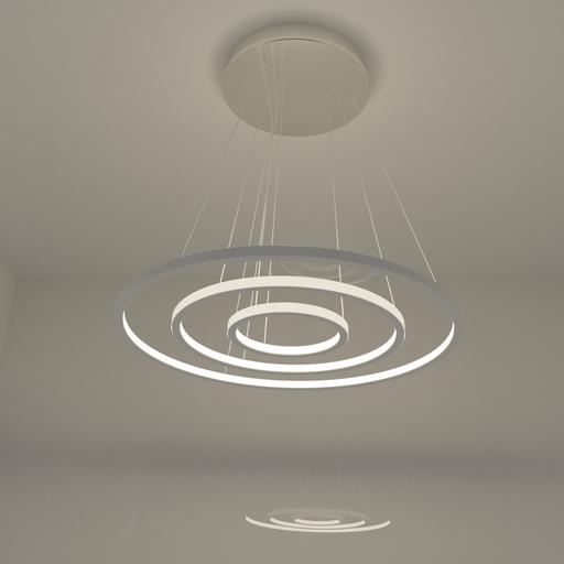 Thumbnail: Pendant ceiling lamp - 3 rings.
