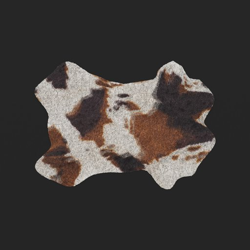 Thumbnail: Fake Cowhide Rug (Cycles Only)