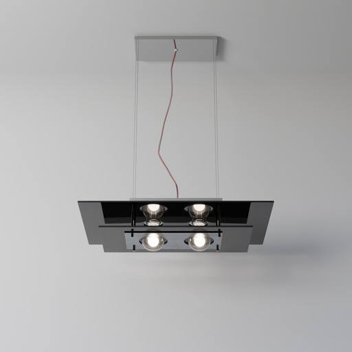 Thumbnail: Rectangular Pendant Light