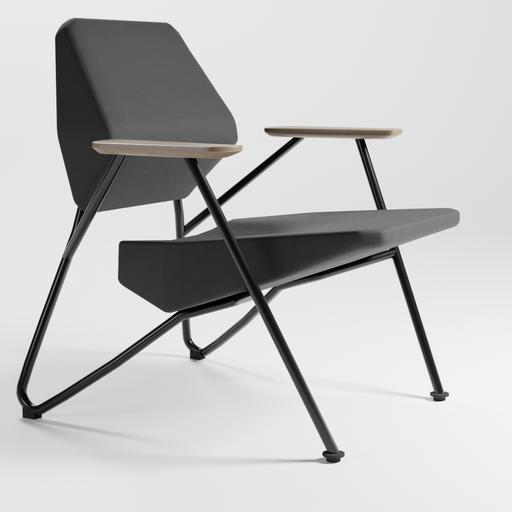 Thumbnail: Polygon easy chair