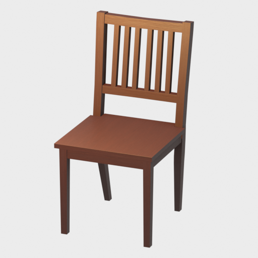 Thumbnail: Simple Dining Chair