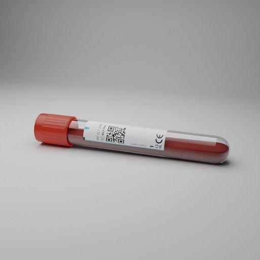 Thumbnail: EDTA Blood Sample on floor
