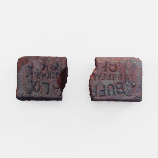 Thumbnail: Old and broken 'buffalo' brick