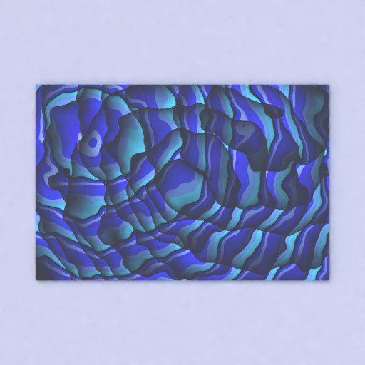 Thumbnail: Scalable picture frame with abstract art