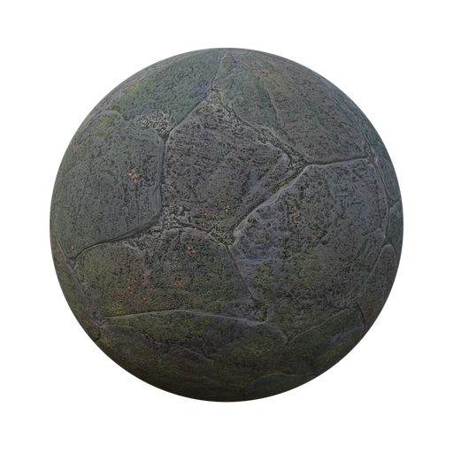 Thumbnail: Mossy stone paving