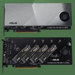 Thumbnail: ASUS Hyper M.2 X16 GEN 4 Card.