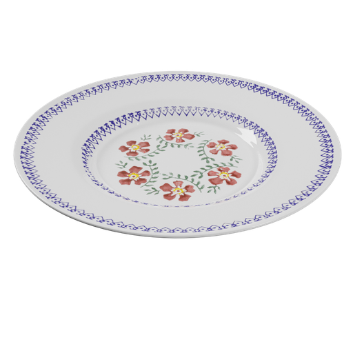 Thumbnail: Plate with Ornaments
