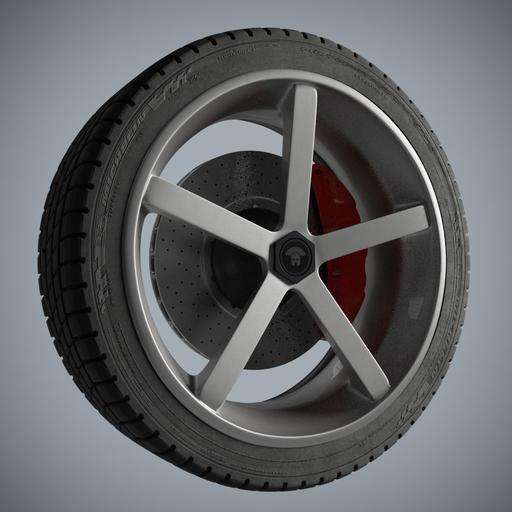 Thumbnail: Kathrina Wheel 5 Spokes PL