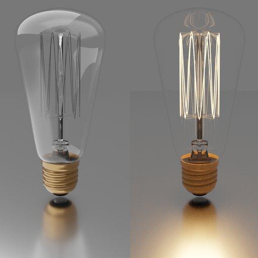 Thumbnail: Filament Light Bulb