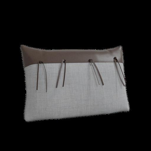 Linen rustic pillow-02