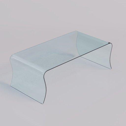 Thumbnail: Coffee Table glass 3
