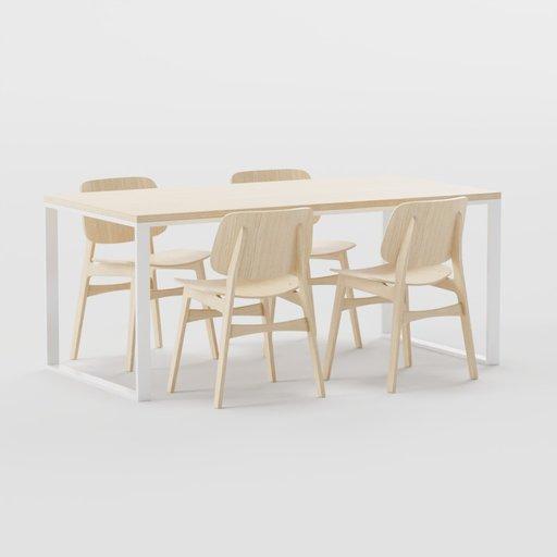 Thumbnail: Loft table 90x160
