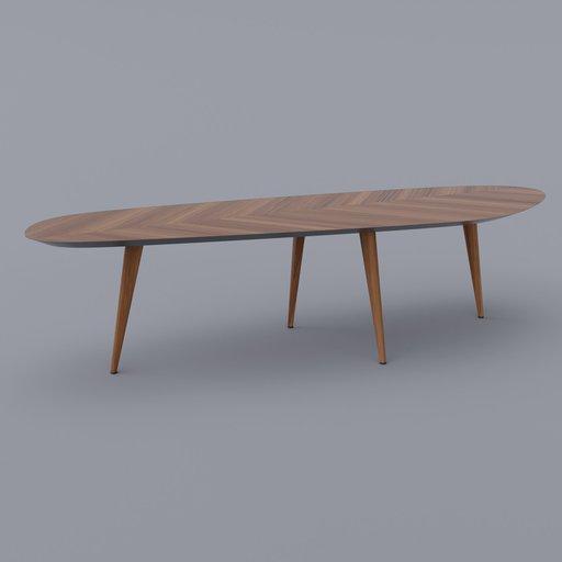 Thumbnail: Tweed Table Large (Reuploaded)