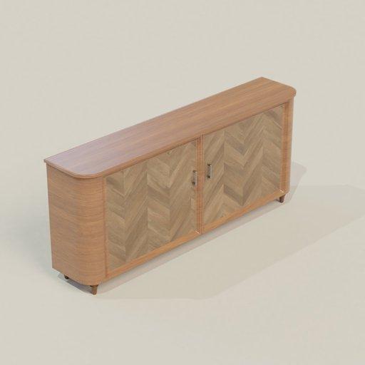 Thumbnail: Wooden Buffet