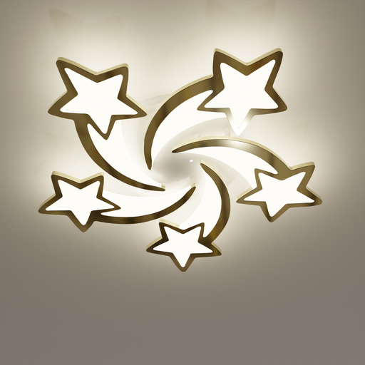 Thumbnail: Large ceiling light - shooting star