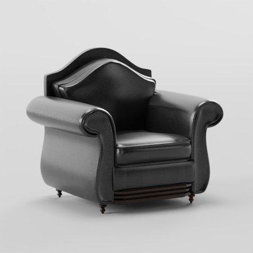 Thumbnail: Sofa set SINGLE seater (leather)