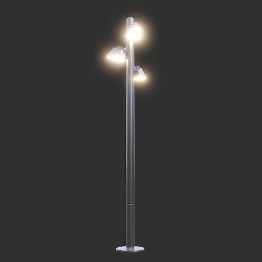 Thumbnail: Modern Street Lamp #03