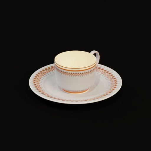 Thumbnail: Arebian tea set(cup & soucer)