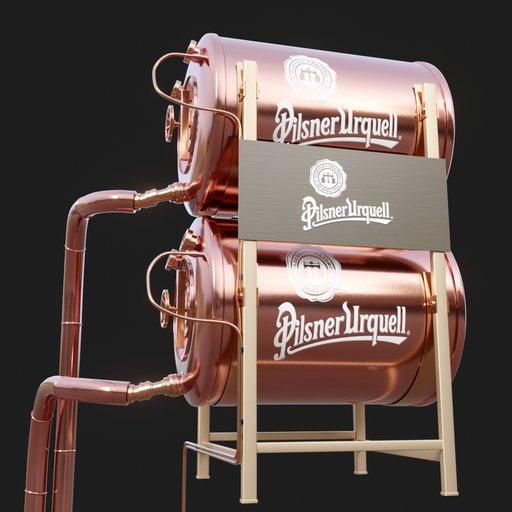 Thumbnail: Copper Beer Tank #02