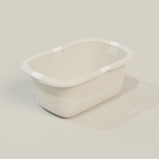 Thumbnail: Plastic Landry Basket