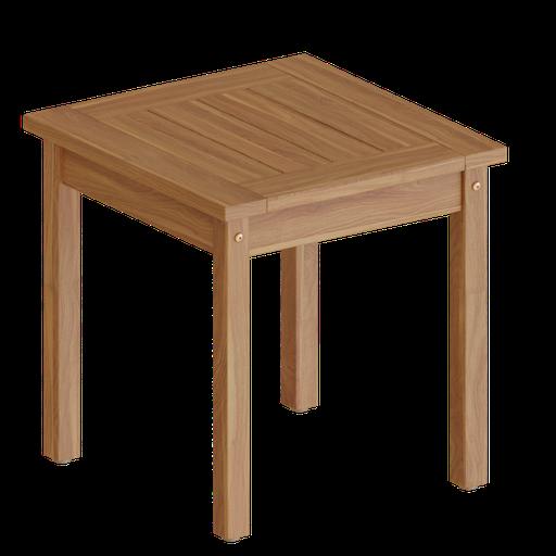 Thumbnail: Square Wood Side Table
