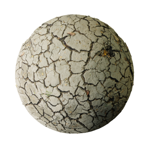 Dried Crack Clay