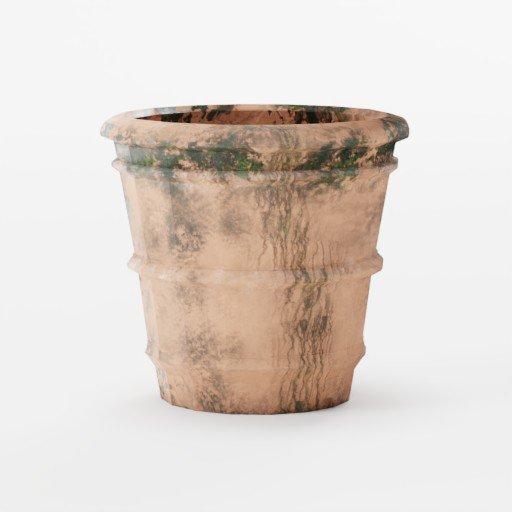 Thumbnail: Terracotta moss basic pot