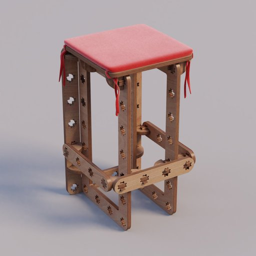 Thumbnail: ROSTE bar stool