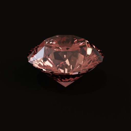 Thumbnail: Brilliant cut Diamond(Red)