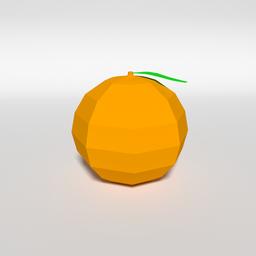 Thumbnail: Low Poly Orange