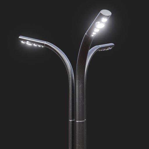 Thumbnail: Modern Street Lamp #01