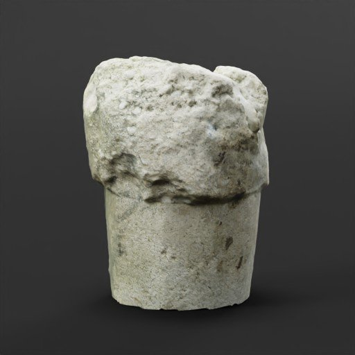 Thumbnail: Old Concrete Post Footer