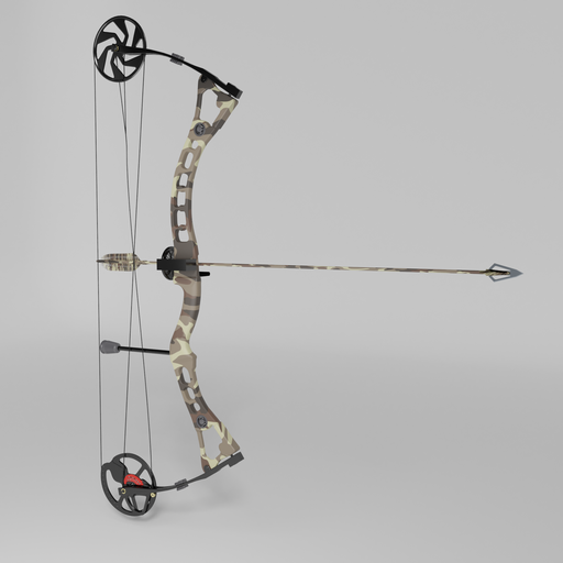 Thumbnail: Compound bow with an arrow
