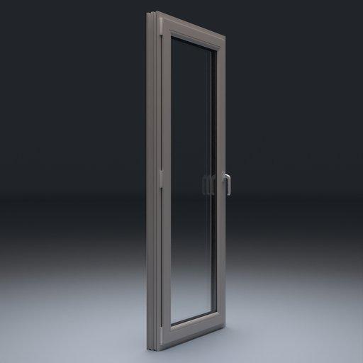 Thumbnail: Plastic Door 87x223 cm