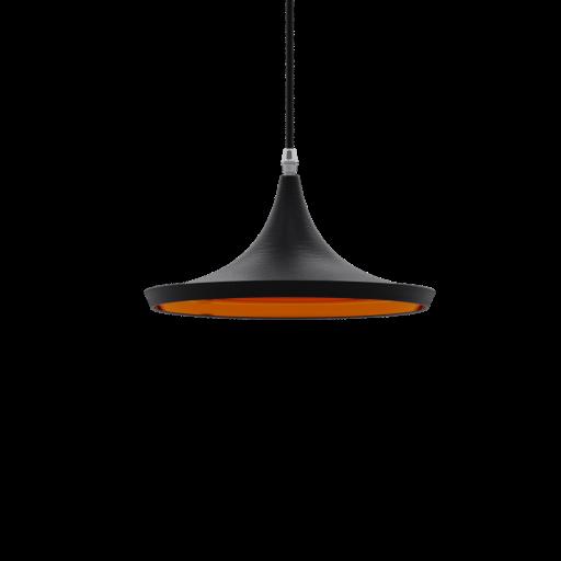 Thumbnail: Pendant Lamp Dixon Black and Gold-01