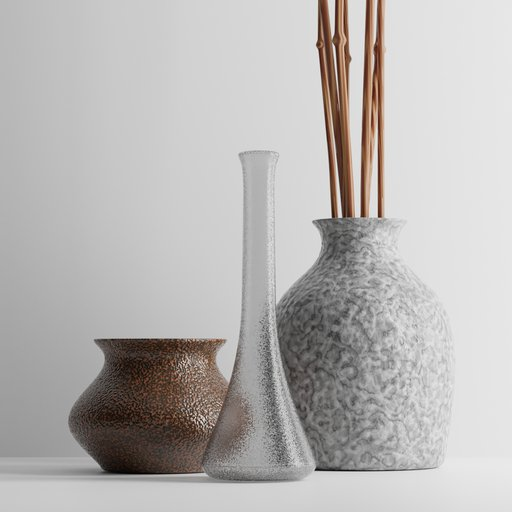 Thumbnail: Decoration Vase Set