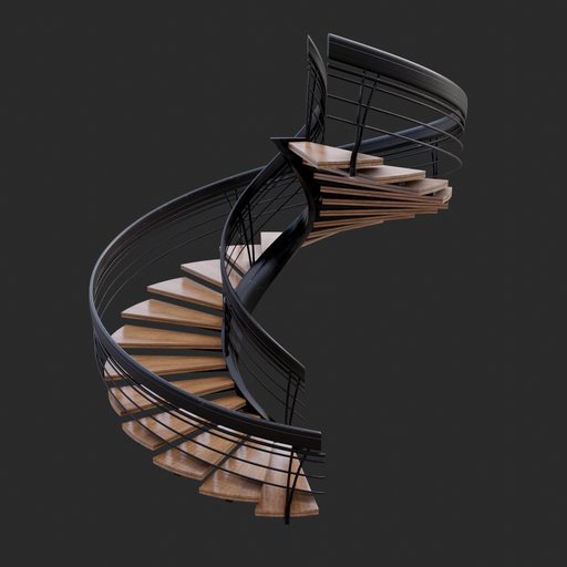Thumbnail: Modern Spiral Stairs #02