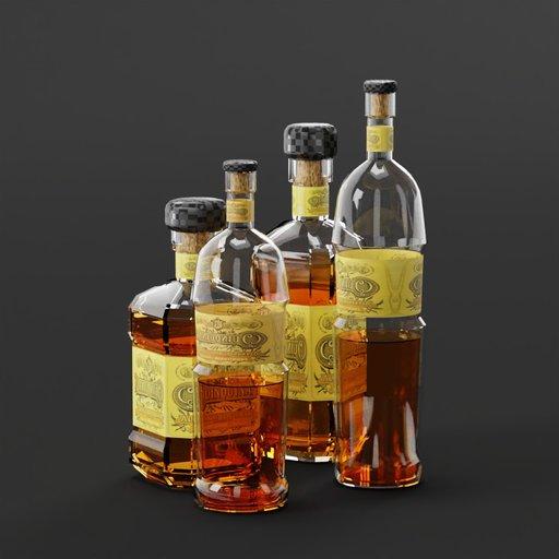 Thumbnail: Alcohol bottle