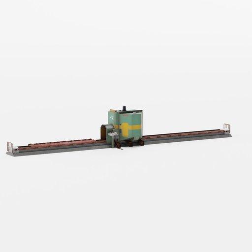 Thumbnail: Industrial wood sawmill machine UP-100